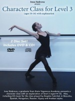 Character Dance Class Level 3 - DVD & Music Cd  -  Cat No: B001O8P412  -  Click To Order  -  ID: 4