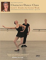 Character Dance Class - Level 1 Etudes For Center Work  -  Cat No: B01M3T2K0K  -  Click To Order  -  ID: 13